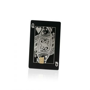 Queen of Hearts Lion Card