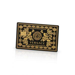 Versace Lion Card