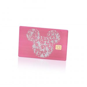 Mickey Mouse Lion Card