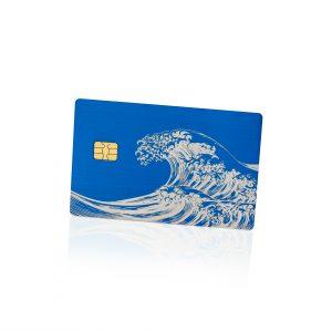 The Great Wave off Kanagawa Lion Card