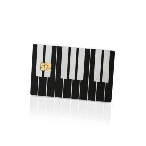 Piano Lion Card