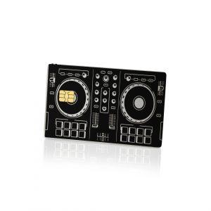 DJ Controller Lion Card