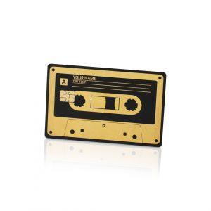 Cassette Tape Lion Card