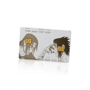 Dual Card: Itachi vs. Sasuke Lion Card