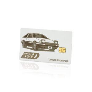 Initial D Toyota Trueno AE86 Lion Card