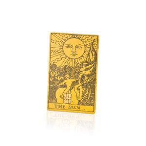 Tarot Card The Sun Lion Card